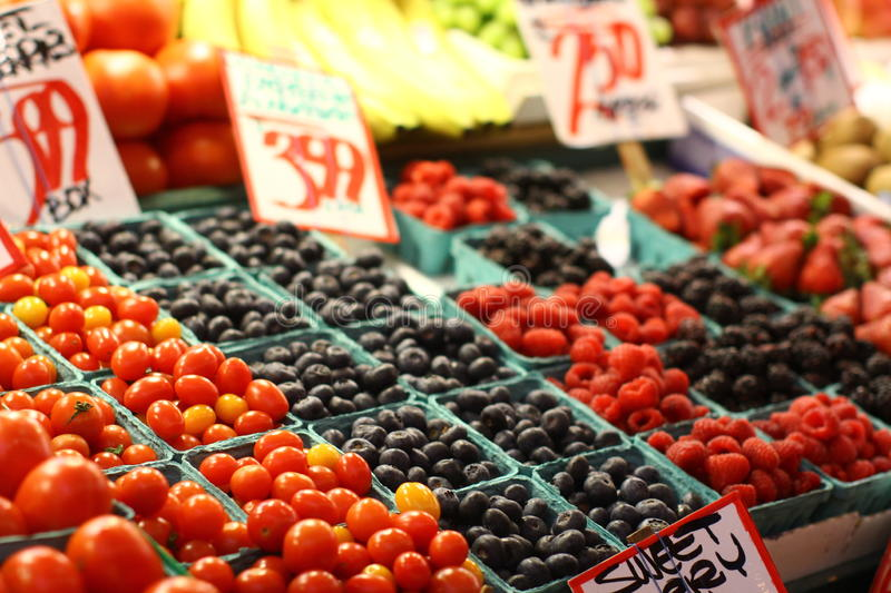 Fruit for sale royalty free stock photos