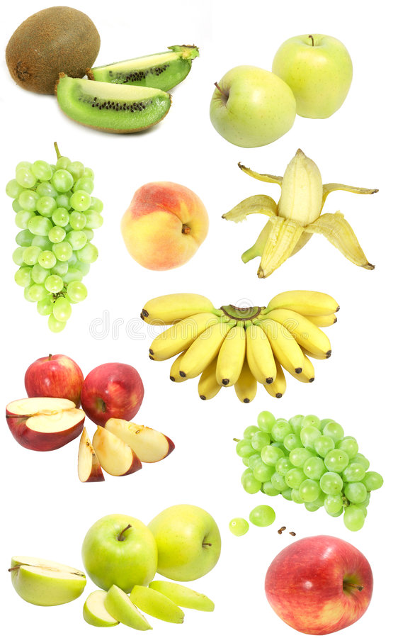 Fruit sampler royalty free stock photos