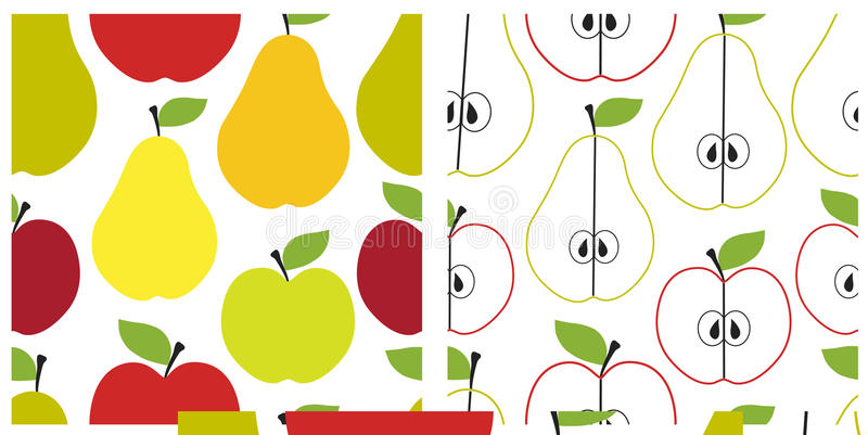 Download Fruit seamless pattern stock vector. Image of fruit, fabric - 18753711