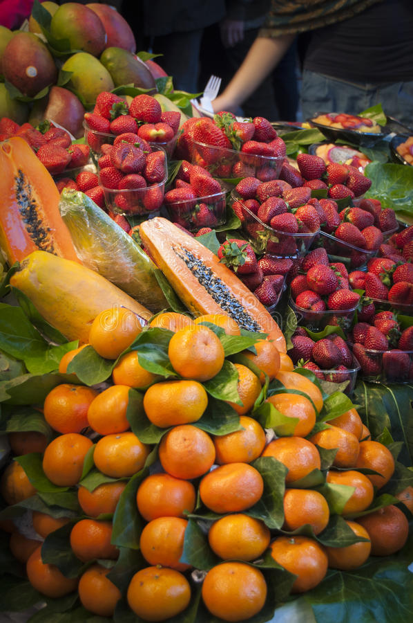 Fruit Selection Stock Image