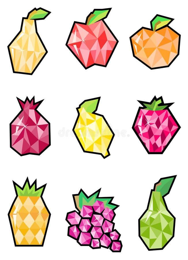 Download Fruit set stock vector. Illustration of orange, design - 12977826