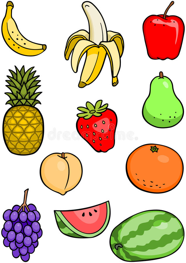 Download Fruit Set Royalty Free Stock Photo - Image: 15848925