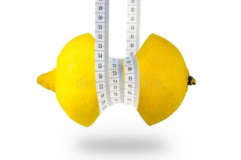 Fruit slimming healthy lemon full of vitamins royalty free stock photos
