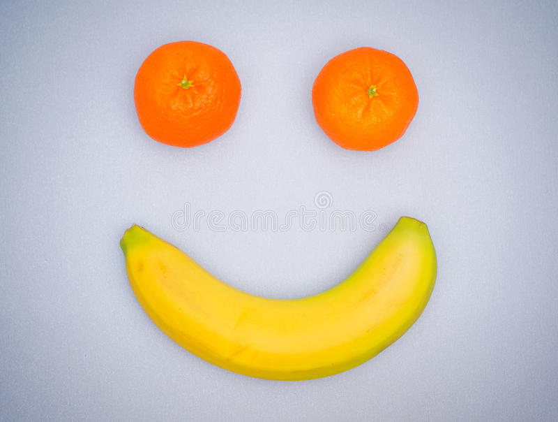 Fruit smile royalty free stock images