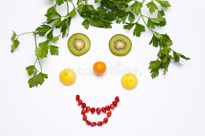 Download Fruit A Smile Royalty Free Stock Photography - Image: 25862197