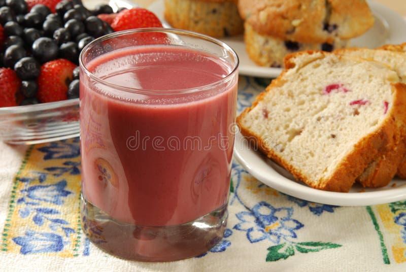 Fruit smoothie stock afbeeldingen