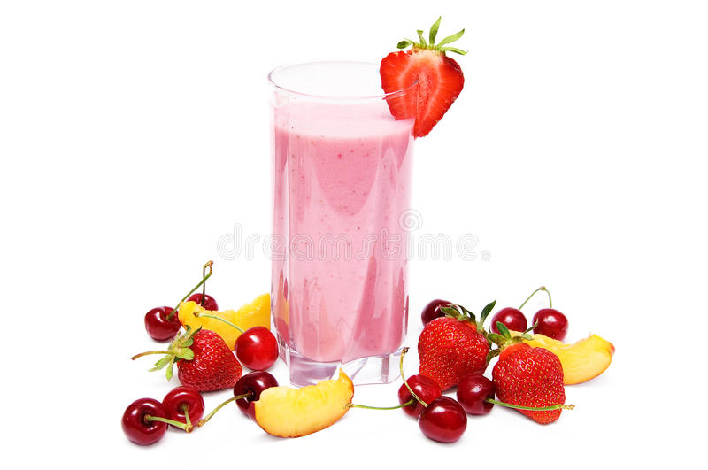 Download Fruit smoothie stock photo. Image of glass, green, beverage - 19799638