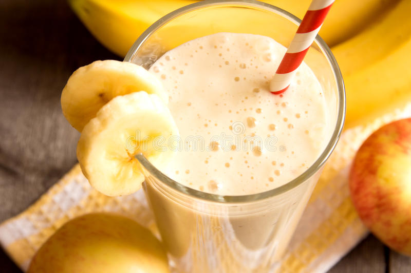 Fruit smoothie stock photos