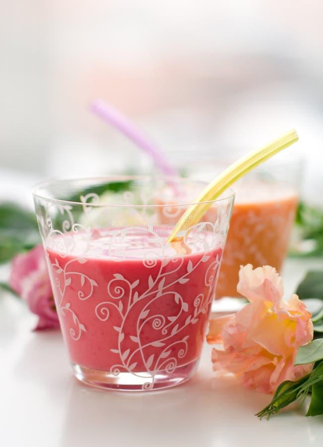 Fruit Smoothies stock fotografie