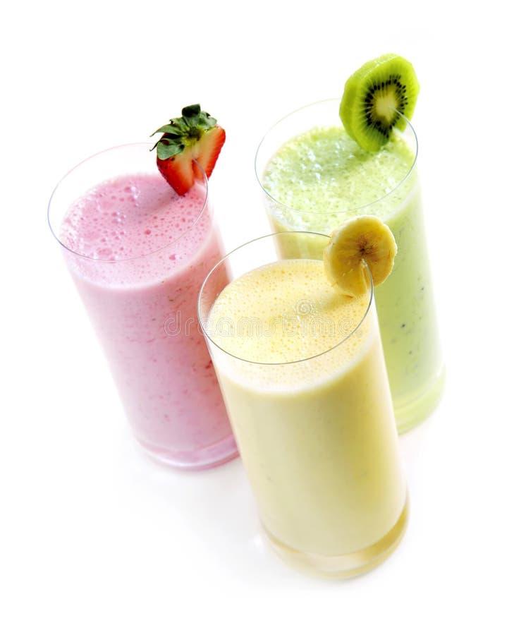 Fruit smoothies royalty-vrije stock fotografie