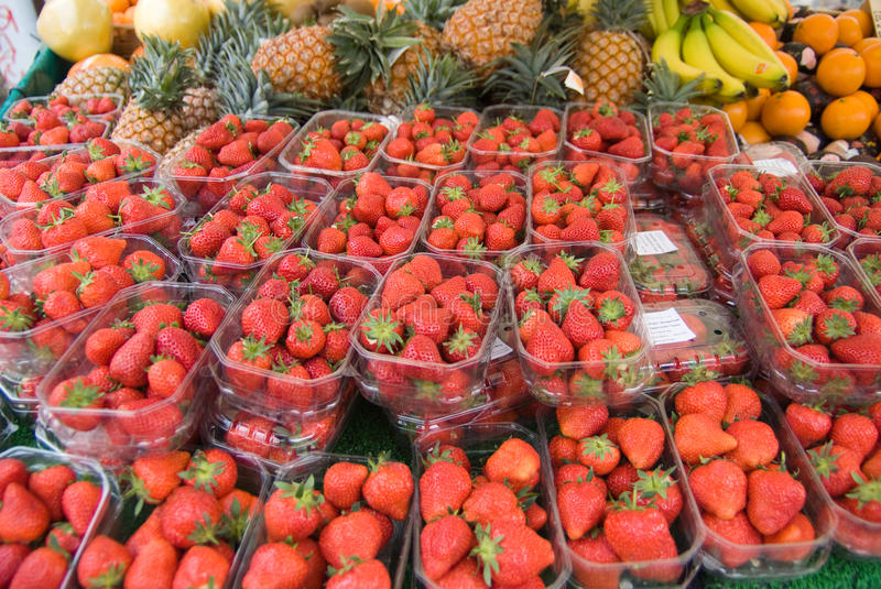 Download Fruit Stall Royalty Free Stock Photography - Image: 12804057