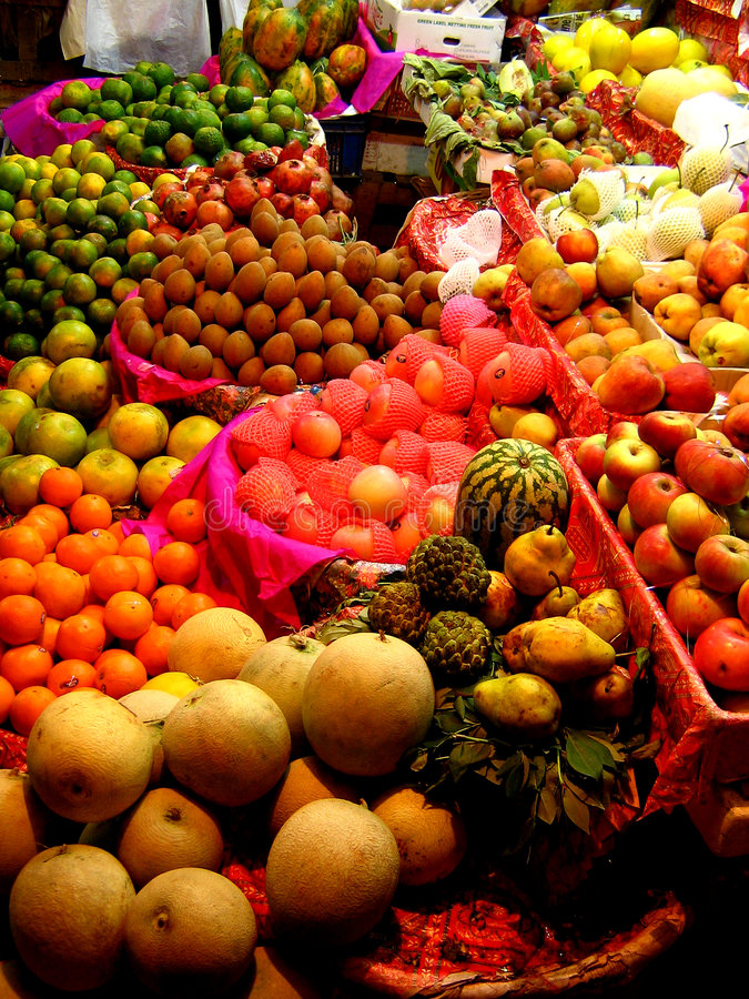 Free Fruit Stall Stock Image - 1500631