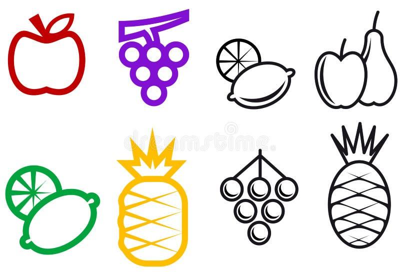 fruit symbole ilustracji