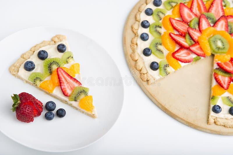 Download Fruit tart stock image. Image of selective, plate, gourmet - 20413189