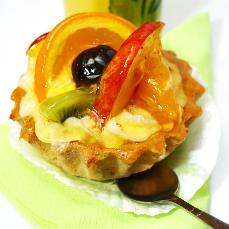 Fruit tart royalty free stock photography