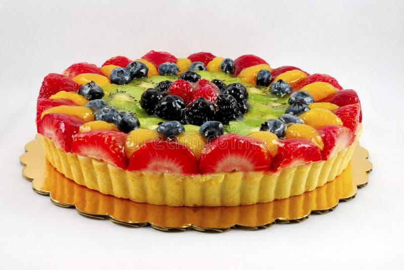 Fruit tart cake royalty free stock photography