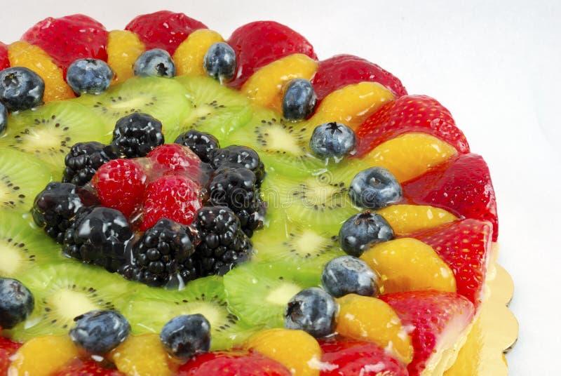 Fruit tart cake royalty free stock image