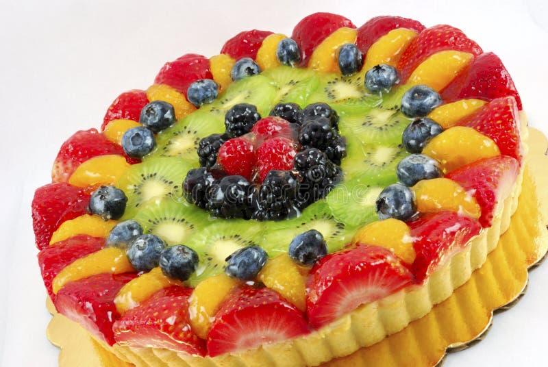 Fruit tart cake royalty free stock photos