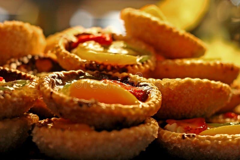 Fruit Tarts stock image