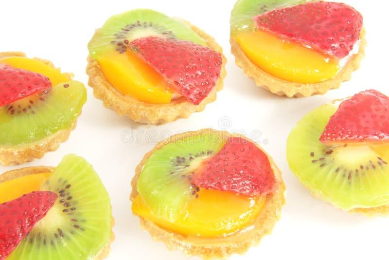Fruit Tarts royalty free stock photos