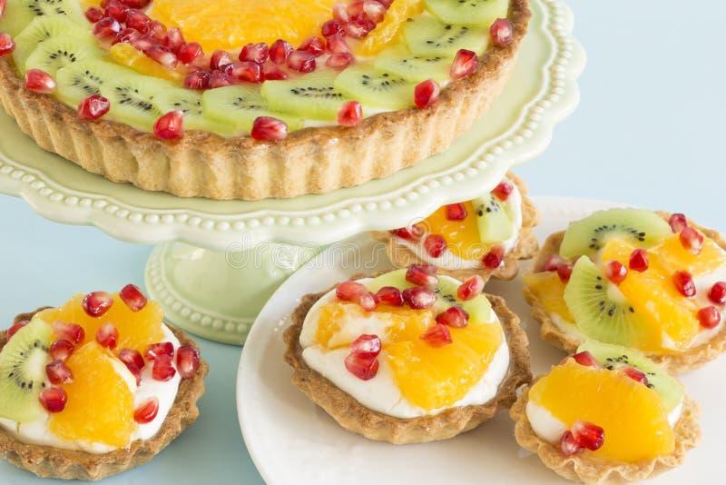 Fruit tarts royalty free stock image