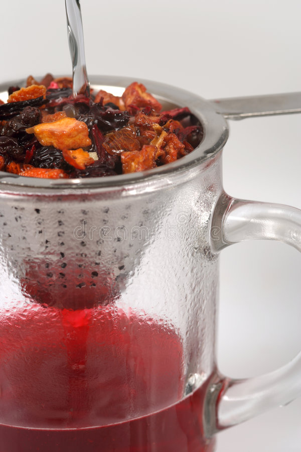 Fruit tea stock images