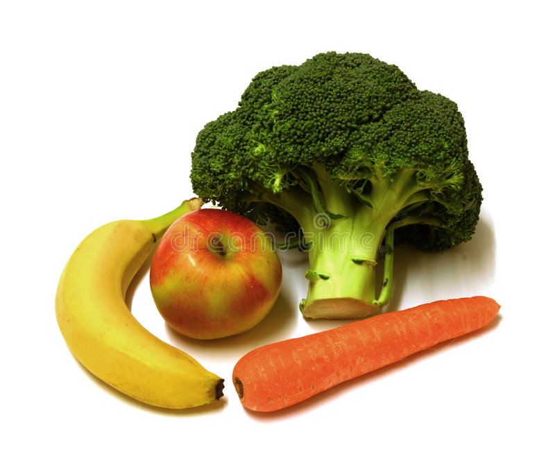 Fruit & veg stock image