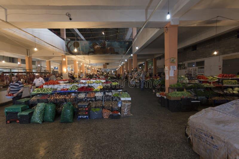 Fruit and vegetable market. Batumi, Georgia – Sempember 14, 2015: Fruit and vegetable market royalty free stock photos