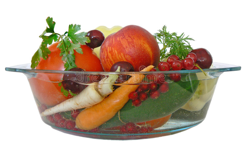 Fruit and vegetables 1 royalty free stock photography