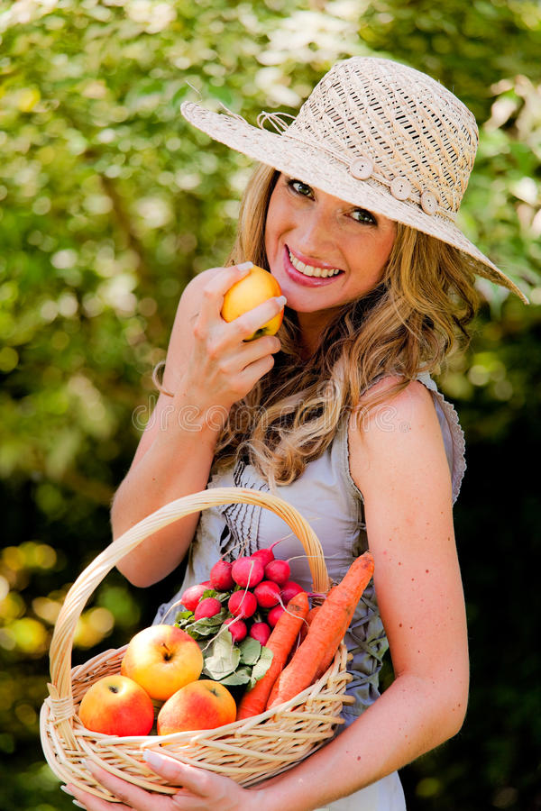 Download Fruit and vegetables stock image. Image of friendly, vegetarian - 14116605