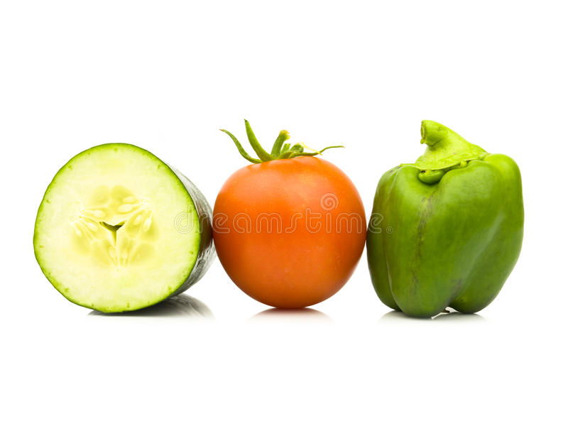 Fruit And Veggies Stock Photos