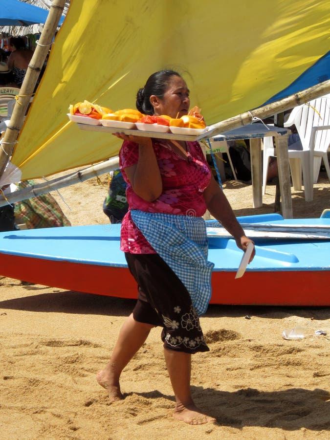 Download Fruit Vendor editorial image. Image of puerto, vacation - 25895510
