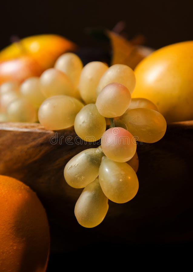 Download Fruit in a wooden dish stock image. Image of deep, plate - 16107397
