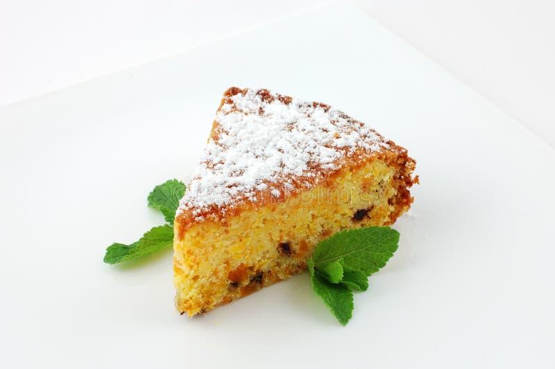 Fruitcake stock image