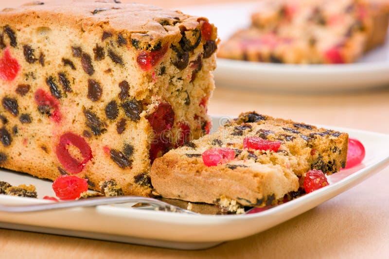 Fruitcake. stock images