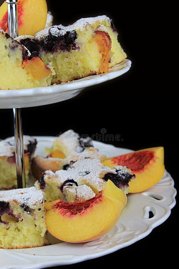 Fruitcake stock afbeelding