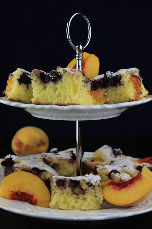 Fruitcake stock fotografie