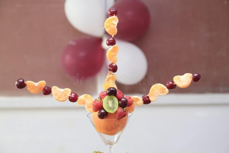 Fruitdienblad stock fotografie