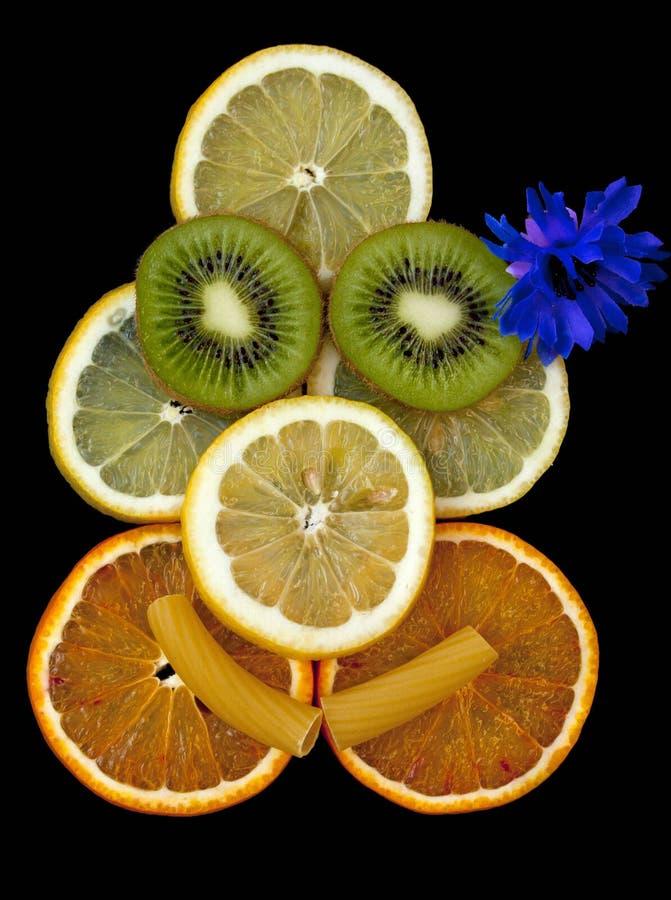 fruitface royaltyfri fotografi