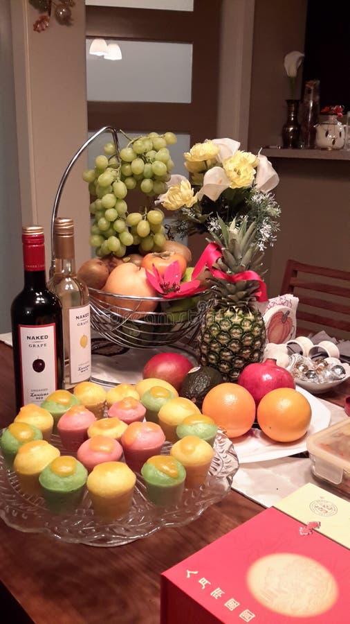 Fruities und gute Sachen lizenzfreie stockfotos