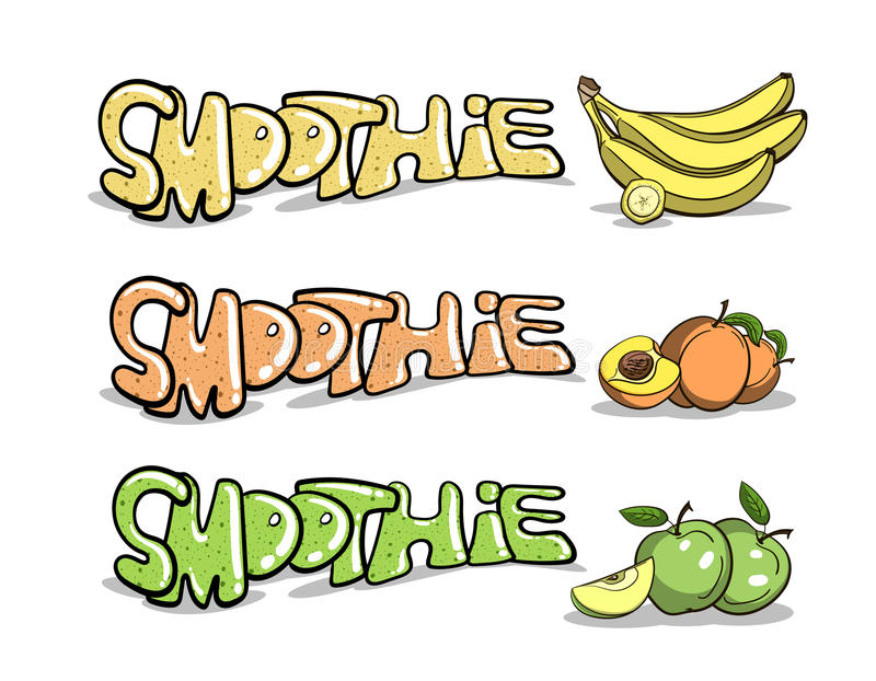 Fruitige Smoothie 1 vector illustratie