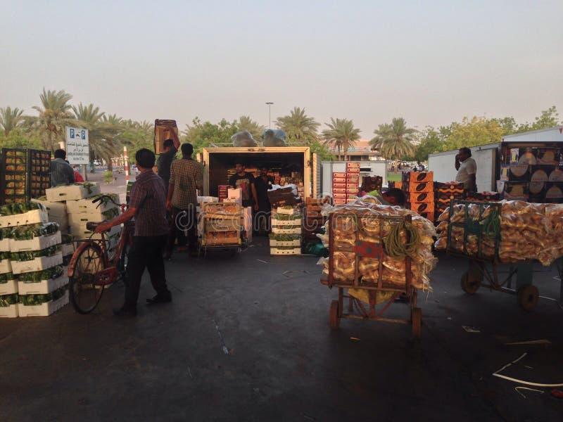 Fruitmarkt royalty-vrije stock foto's