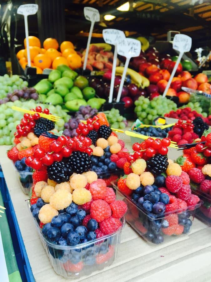 Fruitmarkt stock afbeelding
