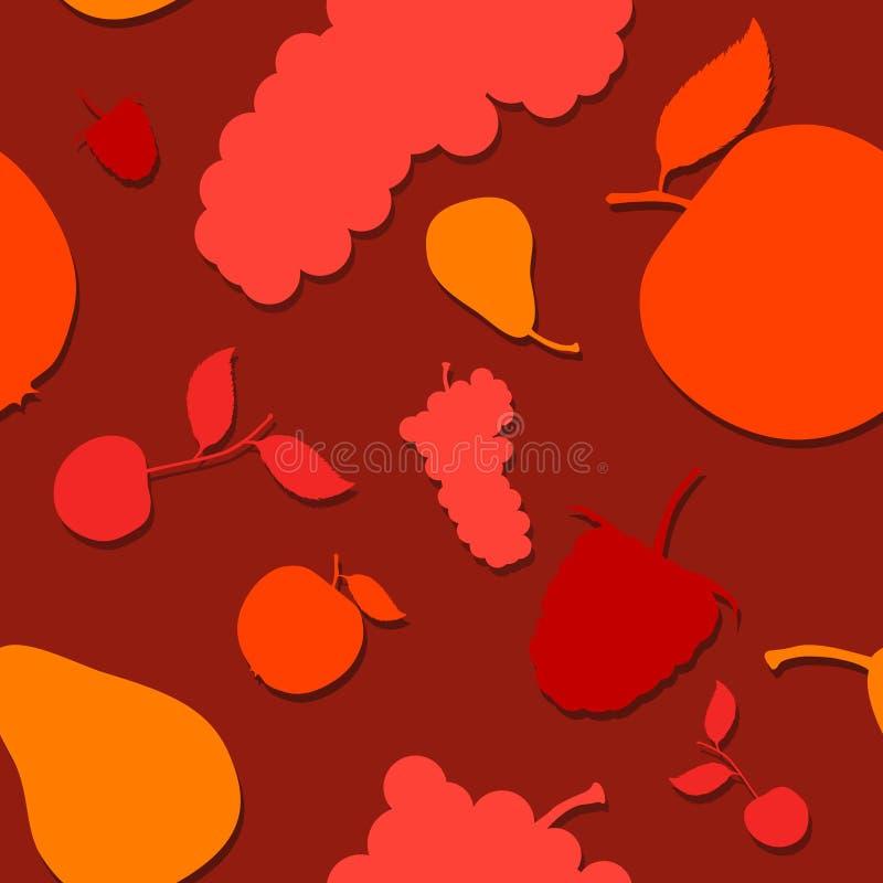 fruitpattern 库存例证