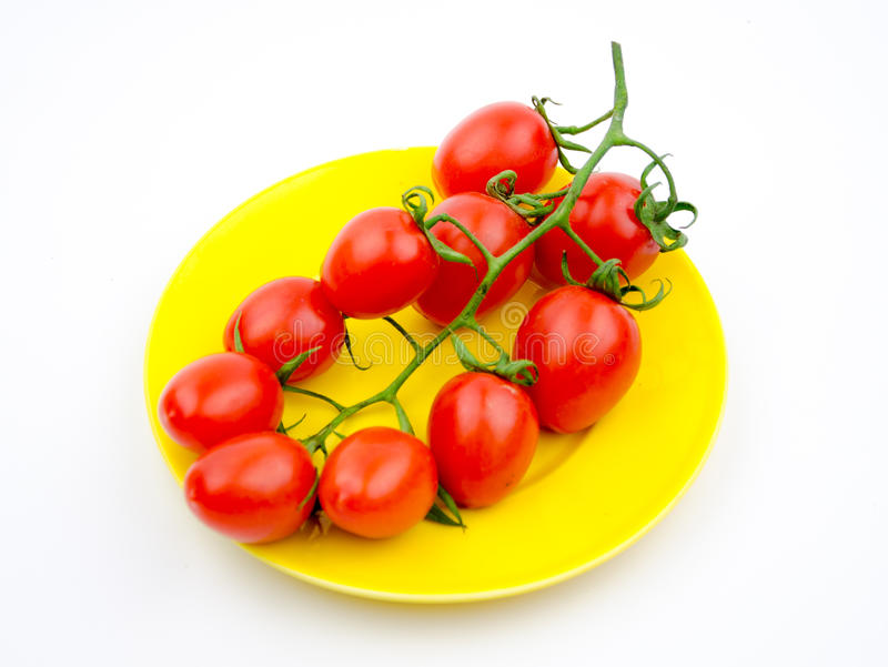 Fruits:cherry tomatoes royalty free stock photo