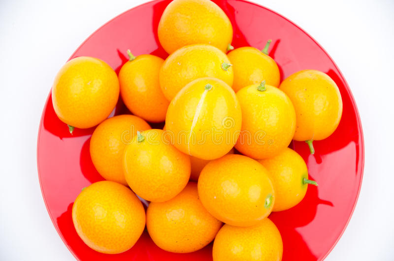 Fruits:The little orange royalty free stock photography