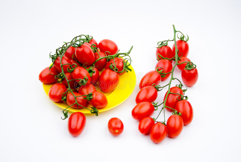 Fruits:cherry tomatoes royalty free stock image