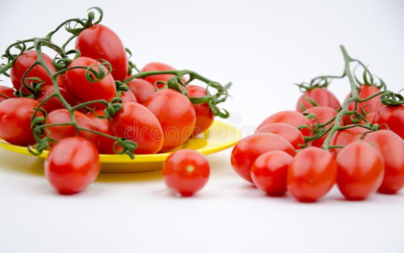 Fruits:cherry tomatoes stock photo