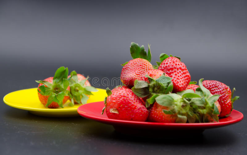 Fruits:strawberry stock photos