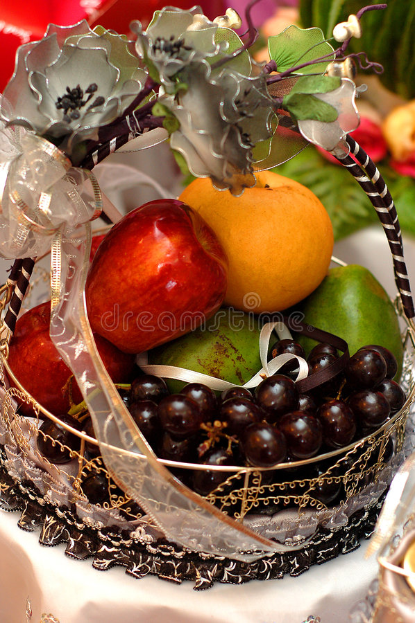 fruits венчание подарка стоковое фото